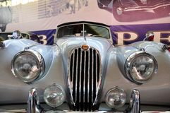 140 1957 jaguarxk Royaltyfri Foto
