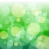 1422 green blue blur. Blue bokeh abstract light background with stars. Vector illustration Royalty Free Illustration