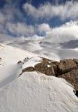 144 śnieg Lebanon Zdjęcia Stock