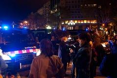 14N通用欧洲罢工 免版税图库摄影