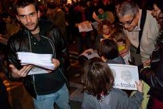 14N Europejczyka Ogólny Strajk Obraz Royalty Free