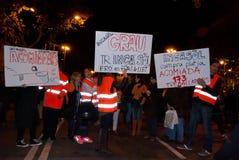 14N General European Strike Royalty Free Stock Images