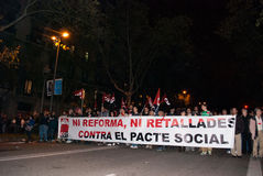 14N General European Strike Stock Image