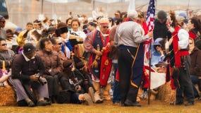 14th Chumash Day Powwow. And Inter-Tribal at Malibu Bluffs Park, in Malibu Royalty Free Stock Photography