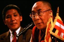 14th Dalai Lama tibet Royaltyfria Foton