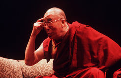 14th Dalai Lama of Tibet Stock Photo