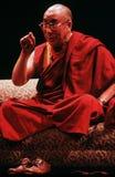 14th Dalai Lama tibet Arkivbilder
