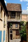 15世纪法国房子勒芒 免版税库存图片