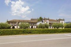 15世纪豪宅在葡萄牙 免版税库存图片