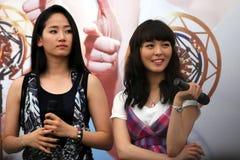 15个女孩新加坡奇迹 免版税库存图片