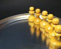 15个棋形象 库存图片