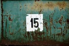 15个背景绿色grunge 库存图片
