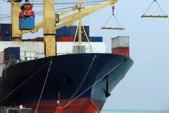 15个货物系列船 免版税库存图片