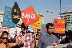 15全球里斯本质量占用10月拒付 免版税库存图片