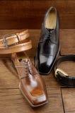 15双豪华鞋子 免版税库存照片