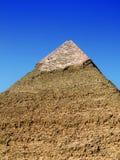 15座吉萨棉金字塔 免版税库存照片