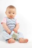 15愉快的婴孩 图库摄影