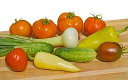 15新鲜蔬菜 免版税库存图片