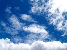 15朵云彩天空 库存图片