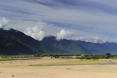 15横向milin西藏 库存照片