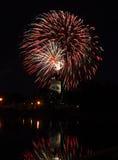 15 πυροτεχνήματα Στοκ Φωτογραφίες