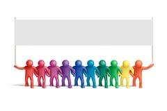 15 χρώματα που ενώνονται Στοκ Εικόνα