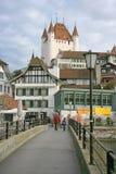 15 взглядов города старых Стоковое фото RF