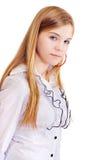 15 лет портрета девушки Стоковое Изображение
