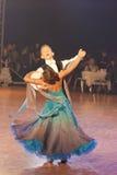 15 пар танцульки minsk -го стандарт программы в январе Стоковая Фотография