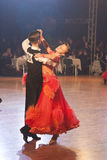 15 пар танцуют minsk -го стандарт программы в январе Стоковое Изображение RF