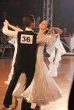 15 пар танцуют minsk -го стандарт программы в январе Стоковые Изображения RF