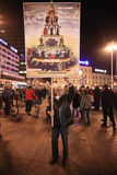15.0 Besetzen Sie Zagreb Lizenzfreies Stockfoto