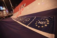 15.0 Occupez Zagreb Image libre de droits