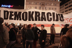 15.0 Occupy Zagreb Stock Images