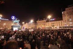 15.0 Ocupe Zagreb Fotografia de Stock Royalty Free