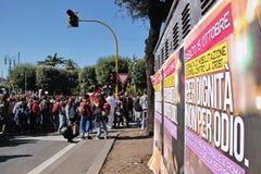15 10月2011日罗马 免版税库存照片