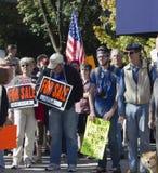 15 10月2011日ows抗议美国宽世界 免版税库存图片