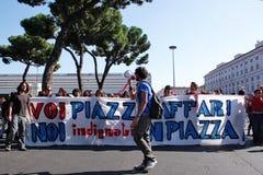 15 2011 Οκτώβριος Ρώμη Στοκ Φωτογραφία