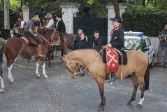 15 2012 argentine gauchos kan Royaltyfri Bild