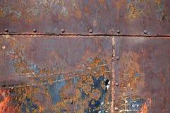 металл 15 предпосылок заржавел Стоковое Изображение RF