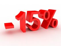 -15% Stock Images