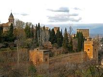 15 alhambra granada Стоковые Фотографии RF