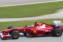 15 Alonso βγαίνουν τη στροφή του Fernando Στοκ Φωτογραφίες