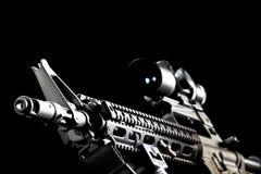 15 ar开枪 免版税库存图片