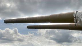 15 cm naval artillery Royalty Free Stock Photography