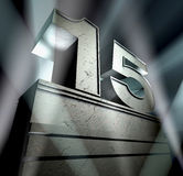 15 gratulacje Obraz Royalty Free