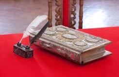 15. Jahrhundertweinlesebuch Lizenzfreie Stockfotos