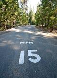 15 kilómetros por hora Imagen de archivo libre de regalías