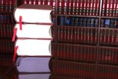 15 prawnych książek Fotografia Royalty Free