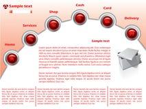 15 szablonów sieć Zdjęcie Stock